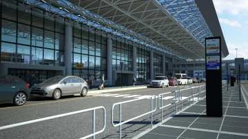 Airport in the world - FCO_2