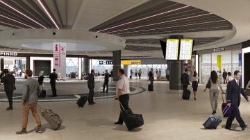ROME AIRPORT TERMINAL T3